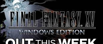 Article title about FINAL FANTASY XV WINDOWS EDITION
