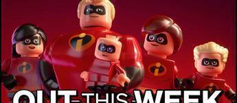 Article title about LEGO The Incredibles
