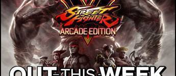 Article title about Street Fighter V