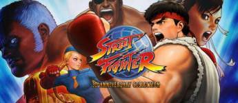 Article title about Street Fighter 30th Anniversary Collection