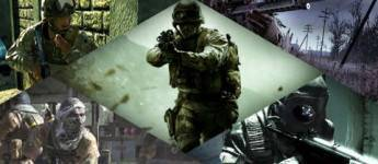 Article title about Call of Duty 4 Modern Warfare