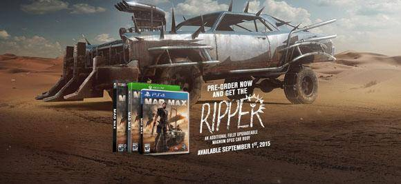 Preorder Mad Max